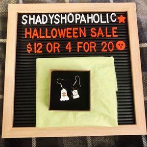 🎃 4 for $20 🆕 Cute Ghosts Earrings